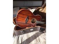 Gorgeous Faith Blood Moon Venus Solid Trembesi Electro Acoustic guitar