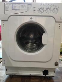 Indesit washing machine , integrated , 6kg