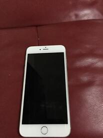 Apple iPhone 6 Plus 128gb. Excellent condition white silver.