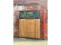 January SALE, Wooden Fence Panels, New Verti Lap 6X3, 6x4, 6x5, 6x6 Nottingham
