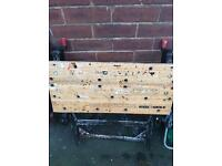 Black n Decker work bench