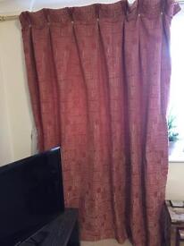 Designer style curtains