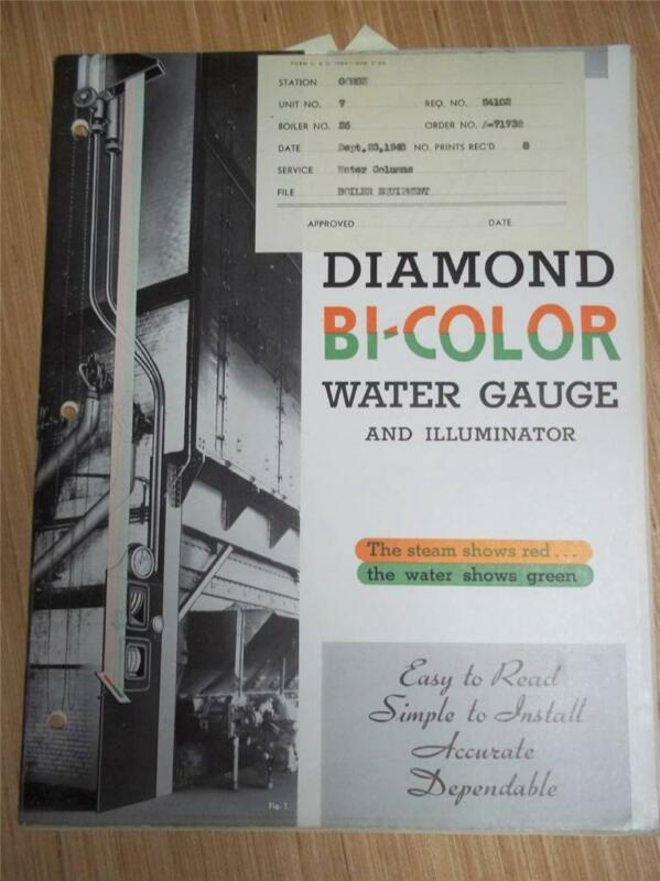 Diamond Power Specialty Corp Catalog/Manual~Water Gauges~Asbestos