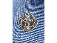 New 2016 battle of Hastings 50p coin