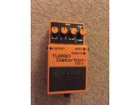 Boss DS-2 Turbo Distortion - Guitar Effects Pedal