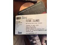 Future island ticket Glasgow