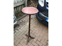 Tall table/antique telephone table