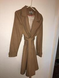H&M ladies camel coat