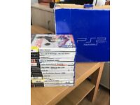 Ps2 fully tested & working with box wires and games