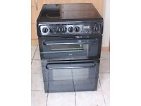 6 MONTHS WARRANTY Hotpoint C367EKH 60cm, double oven electric cooker FREE DELIVERY