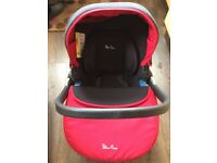 Silver Cross Pioneer car seat with isofix base