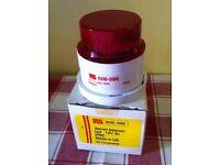 XENON BEACON RED 12V (IP56) NEW, UNUSED, BOXED - bargain - £ 10
