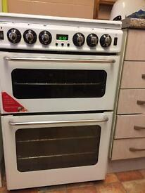 One year old new world new home gas cooker