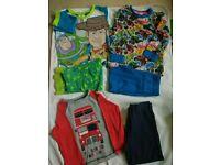 3-4 boys pyjamas PJ's bundle, blaze, toy story