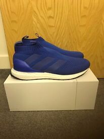 Brand New Adidas Ace 16 + Pure Control Ultraboost Blue Size UK 9.5