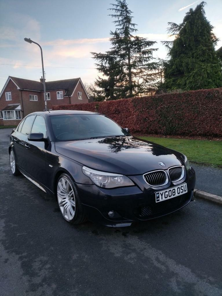 BMW 535D 5 SERIES M SPORT LCI MODEL AUTO DIESEL 5DR 2008 FULLY LOADED