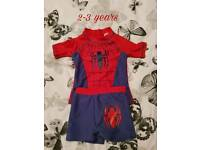 Spiderman swim suit age 2-3years