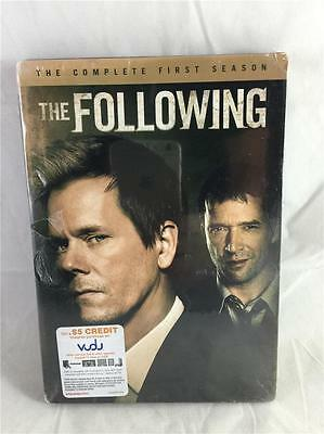 New The Following  The Complete First Season  Dvd  2014  4 Disc Set