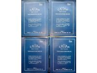 Calan Method Teach Learn Study English Language for Russian Students Set of 4 Books + 9 AUDIO CD