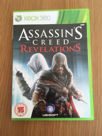 ASSASSIN S CREED REVELATIONS XBOX 360 GAME