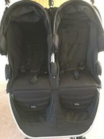 Double Buggy - Britax B Agile - Immaculate Condition
