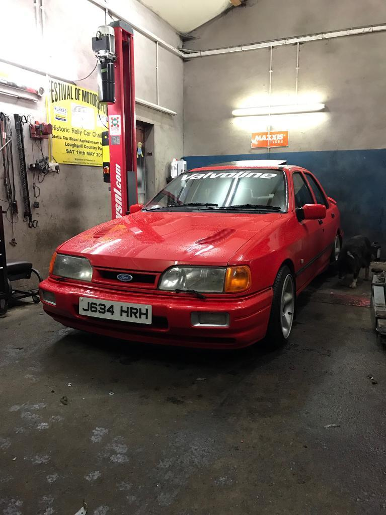 Ford Sierra 4x4 bonnet and RS skirts wanted