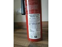 Three 2kg CO2 Fire extinguishers up for sale