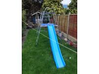 Child's slide and climbing frame vgc