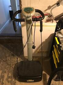 Vibrapower Electric Vibration Exercise Machine.