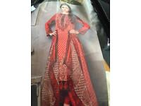 Ladies designer lawn suit