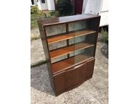 Wooden cabinet Bookcase bookshelf shelving unit with free delivery