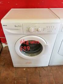 beko 6kg washing machine free delivery in Coventry