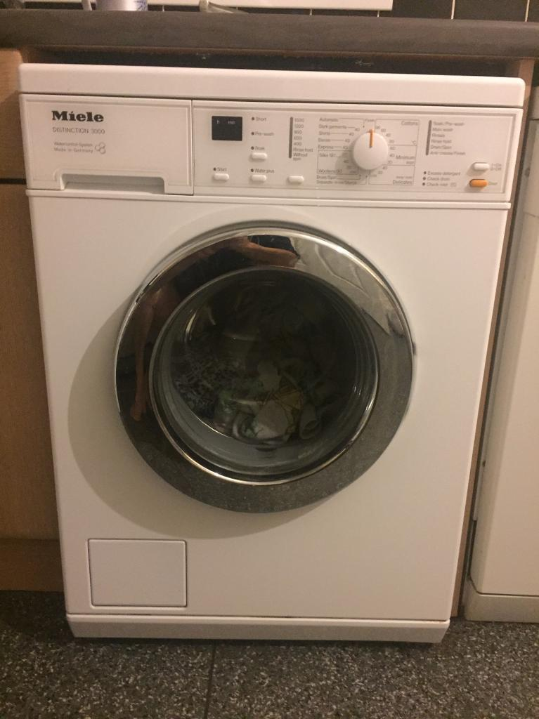 Miele washing machine distinction 3000