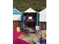 Beach Hut for Hire Durley Chine