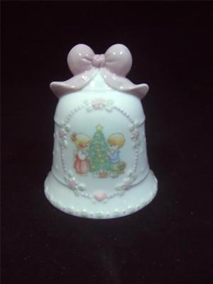 ENESCO PRECIOUS MOMENTS CHRISTMAS BELL - 1977 - AVON EXCLUSIVE