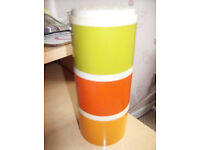 VINTAGE TUPPERWARE STACKABLE SPICE CANNISTERS