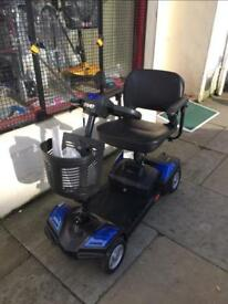 Mobility Scooter Travel Size and Pavement