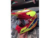 2017 Troy lee se3 corsa 2 carbon mx helmet M