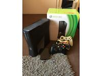 Xbox 360 slim 4GB plus 320GB hard drive