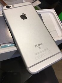 iPhone 6s silver 16gb immaculate and boxed!