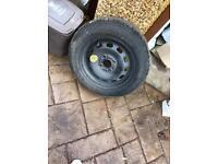 Spare wheel ford firsta