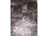 Lino for sale tile look design £30 Ono