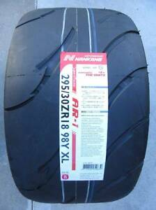 NANKANG AR-1 COMPETITION SEMI SLICK TYRE 295/30ZR18 JZA80 R34 GTR Para Hills West Salisbury Area Preview