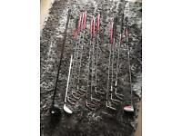Progen golf set bag wedges putter