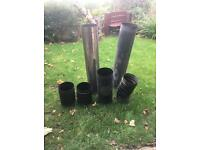 Chimney flue pipes