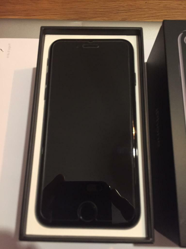 iPhone 7 Matte Black Brand New 128GBin Craigleith, EdinburghGumtree - Brand newOriginal screen plastic wrap removed and tempered glass screen protector placed after purchase.Switched on and off onceLocked to o2 requested official unlock from o2.Comes with an o2 sim with 15£ topped up.Matte black iPhone Cover that is...