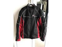 Frank Thomas red and black men's XL Motorcycle Bike jacket