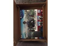 Brand new PS4 bundle with Watchdogs 1 & 2