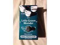 Mad Professor Little Green Wonder (Tube Screamer Style Overdrive Pedal)
