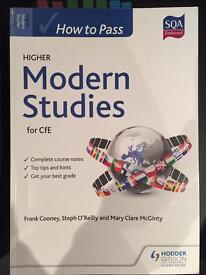 Higher How To Pass Modern Studies
